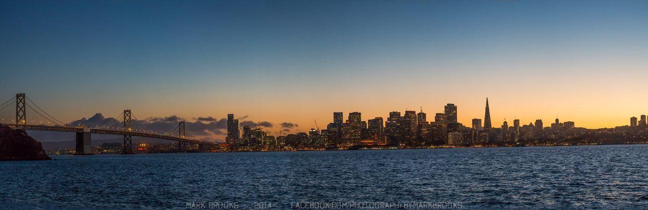 Global EyeEm Adventure - San Francisco Panorama Sunset Bridge