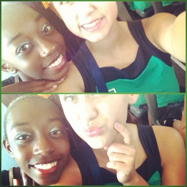 Throwback To Marching Competition. Me & My Bby Kaisha