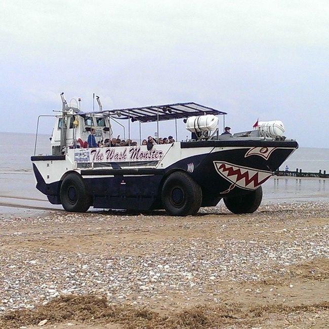 The wash monster Thewashmonster Hunstanton NorthNorfolk Norfolk norfolkcoast nofilters beach coast sea pebbles tour seaside