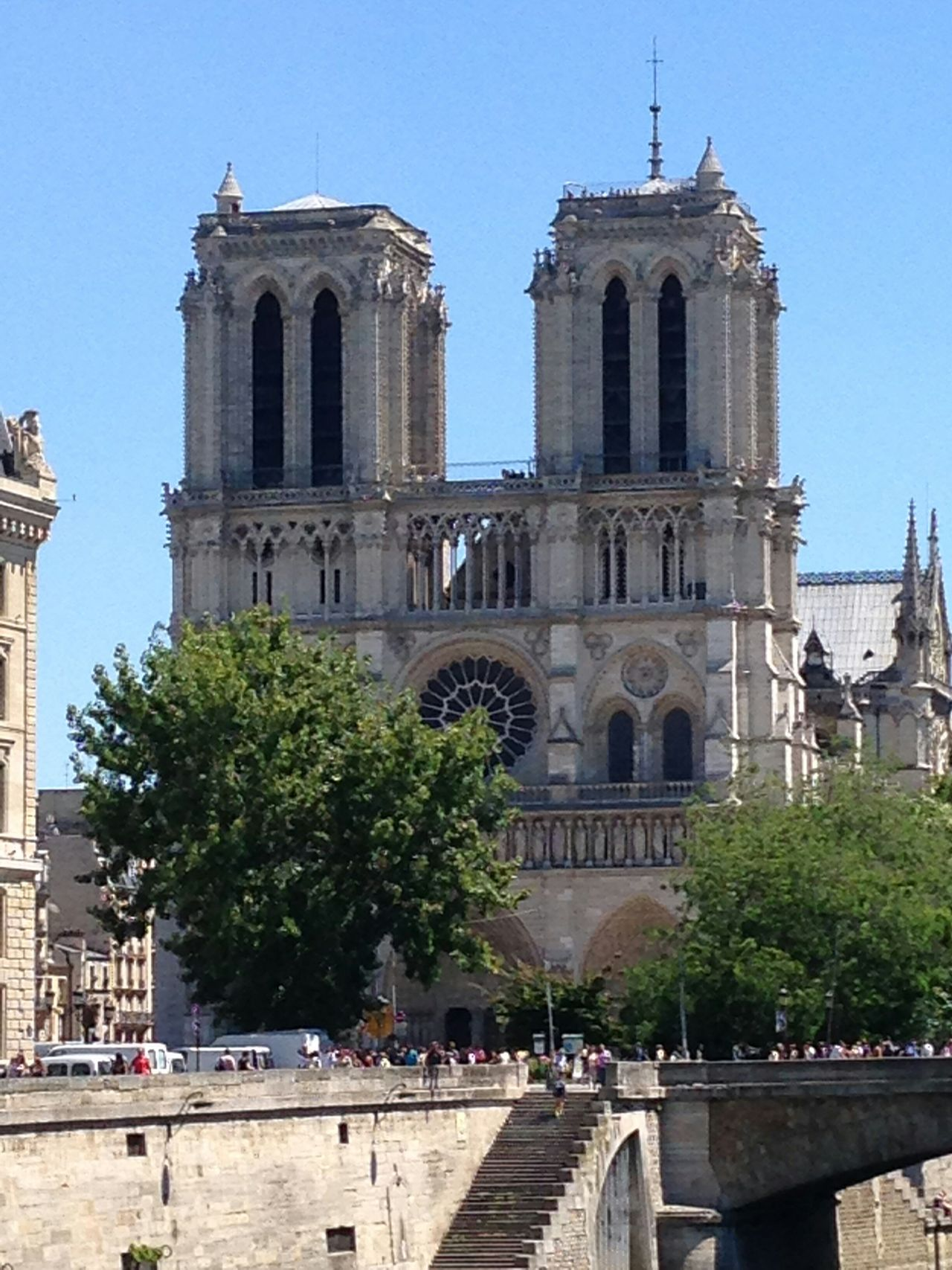 Notre Dame.. Historical Sights Enjoying Life Architecture Don't Jump Check This Out Taking Photos Tourists Sightseeing Enjoying Life Being A Tourist