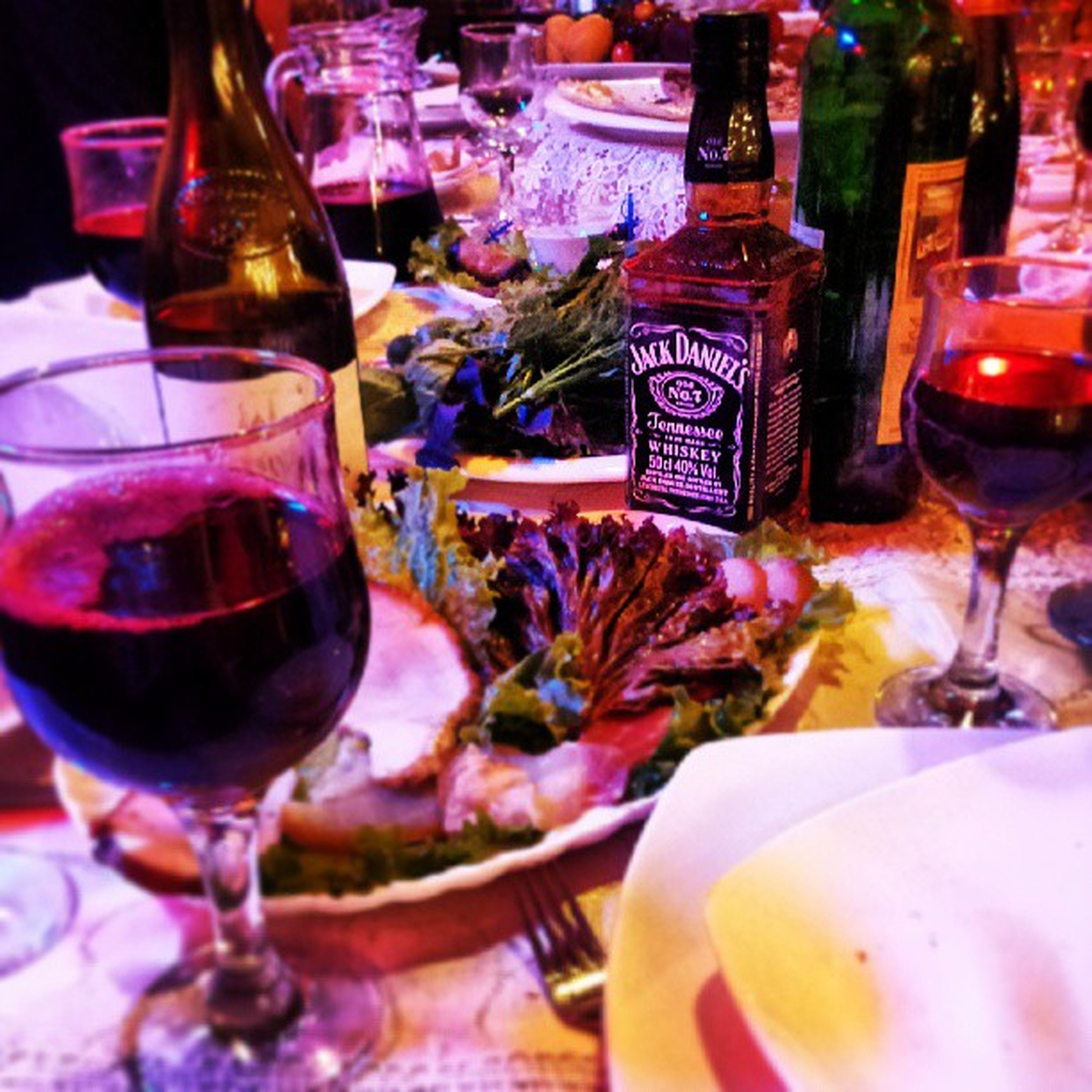 indoors, food and drink, drink, drinking glass, table, refreshment, still life, freshness, glass - material, restaurant, alcohol, close-up, wineglass, indulgence, transparent, variation, food, sweet food, incidental people, glass