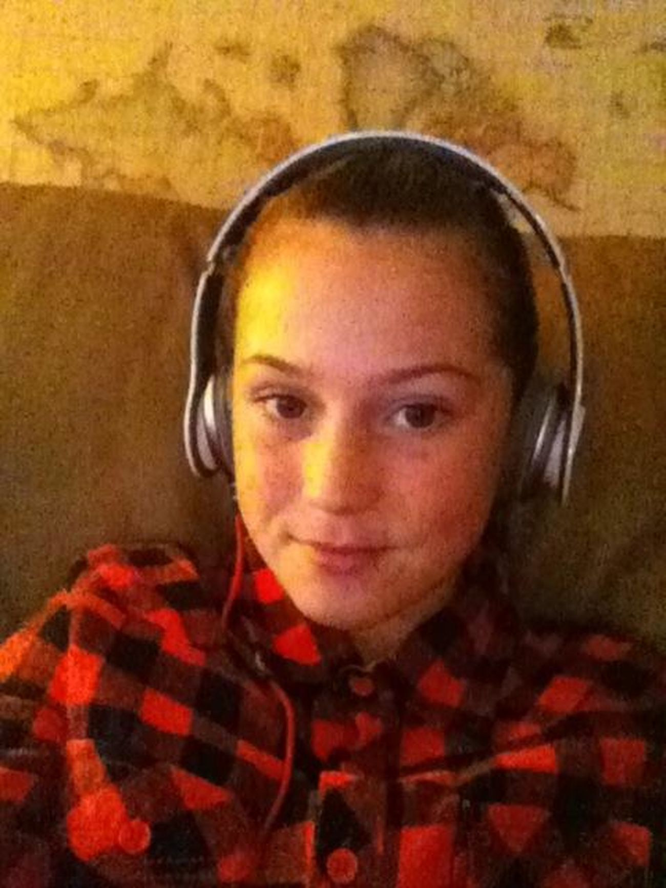 Having Fun With My New Beats On Christmas