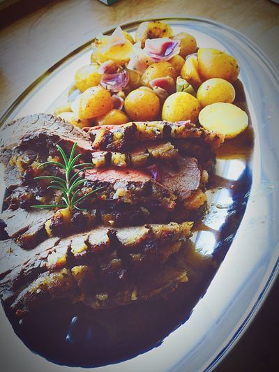 Meal Ready-to-eat Food Styling Homemade Tray Healthy Eating Food Roastbeef