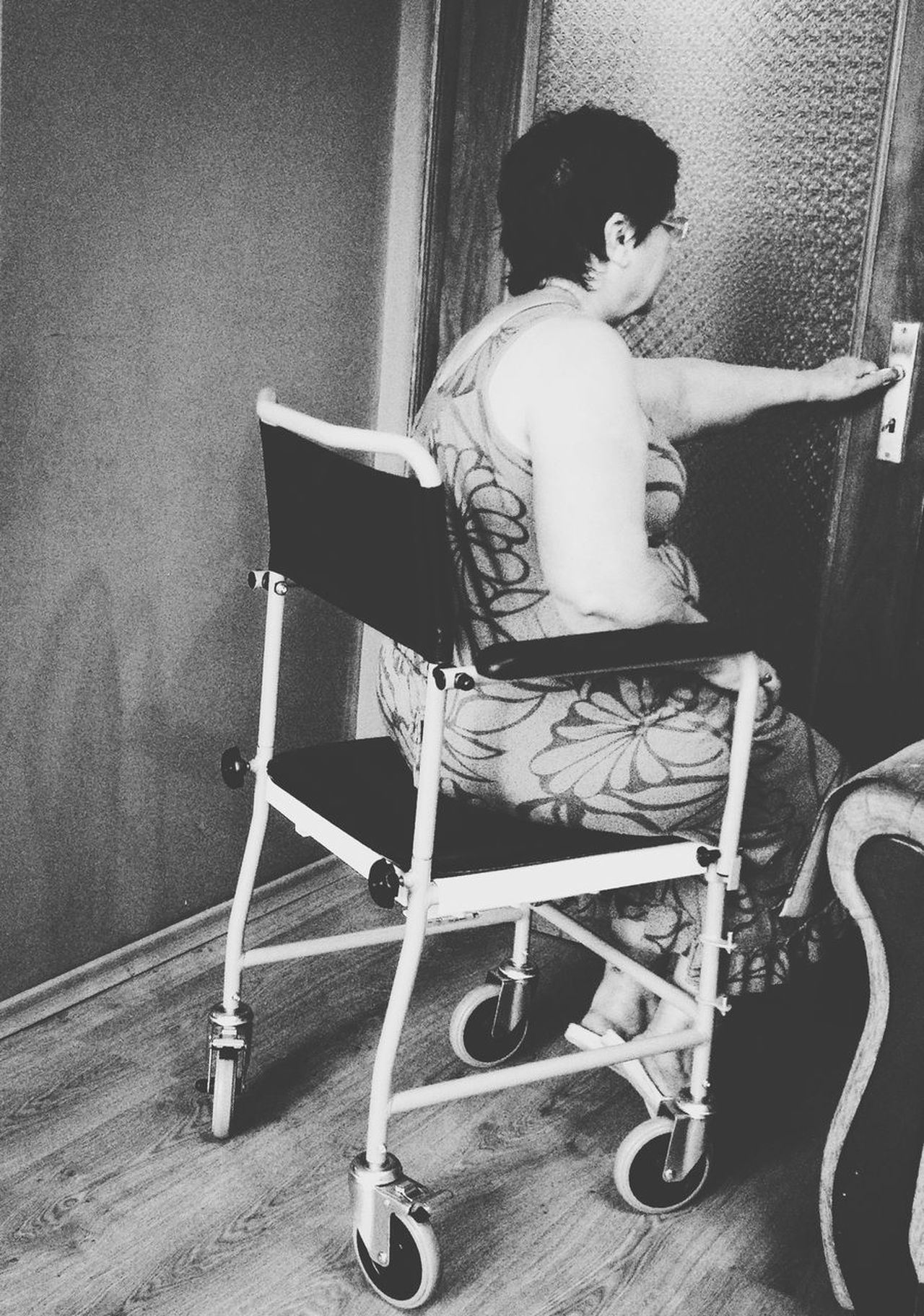 Disabled people Health Wheelchair Disabled People Person Black And White
