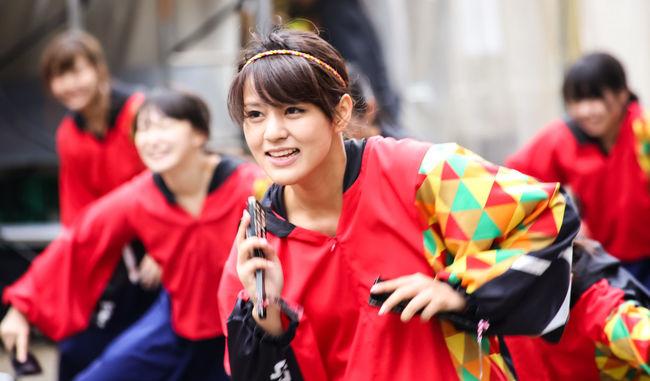 Yosakoi Feastival of Tokyo 2016 Beautiful Girls  Beautiful Girls And Boys Beautiful Peoples Feastival Of Japan Feastival Season Feastival Time People People Of EyeEm Performing Fashion Street Fashion Street Photography Yosakoi Feastival Of Tokyo 2016