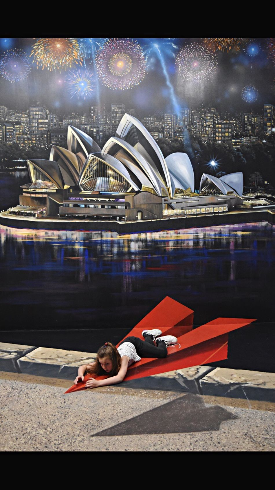 Stadium Sport Illuminated People Architecture Outdoors One Person Indoors  Airplane Paperplanes Melbourne Docklands,Melbourne Flying Sydney Sydney Opera House Fireworks Exploring Style