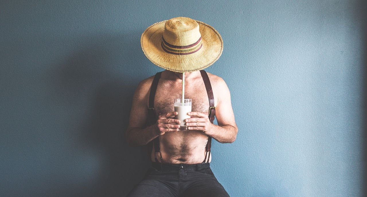 Beautiful stock photos of fashion, 35-39 Years, Chest Hair, Drink, Drinking