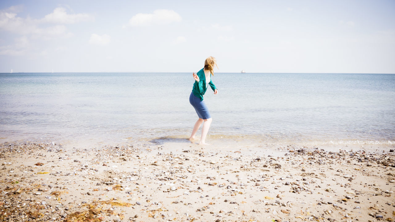 Beautiful stock photos of sommer, Calm, Cloud, Coastline, Day