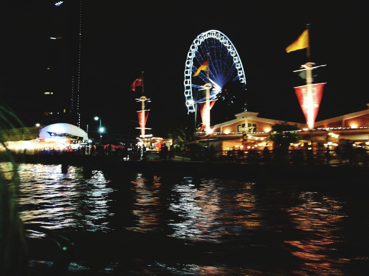 Nightviewofasiatique Bangkokasiatique