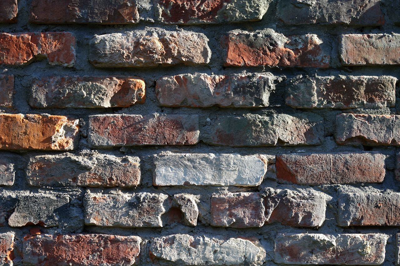 Brick Wall Full Frame Backgrounds Architecture Wall - Building Feature Built Structure Repetition Day No People Bricks Brick Building Architecture Photography House Architecture Close-up