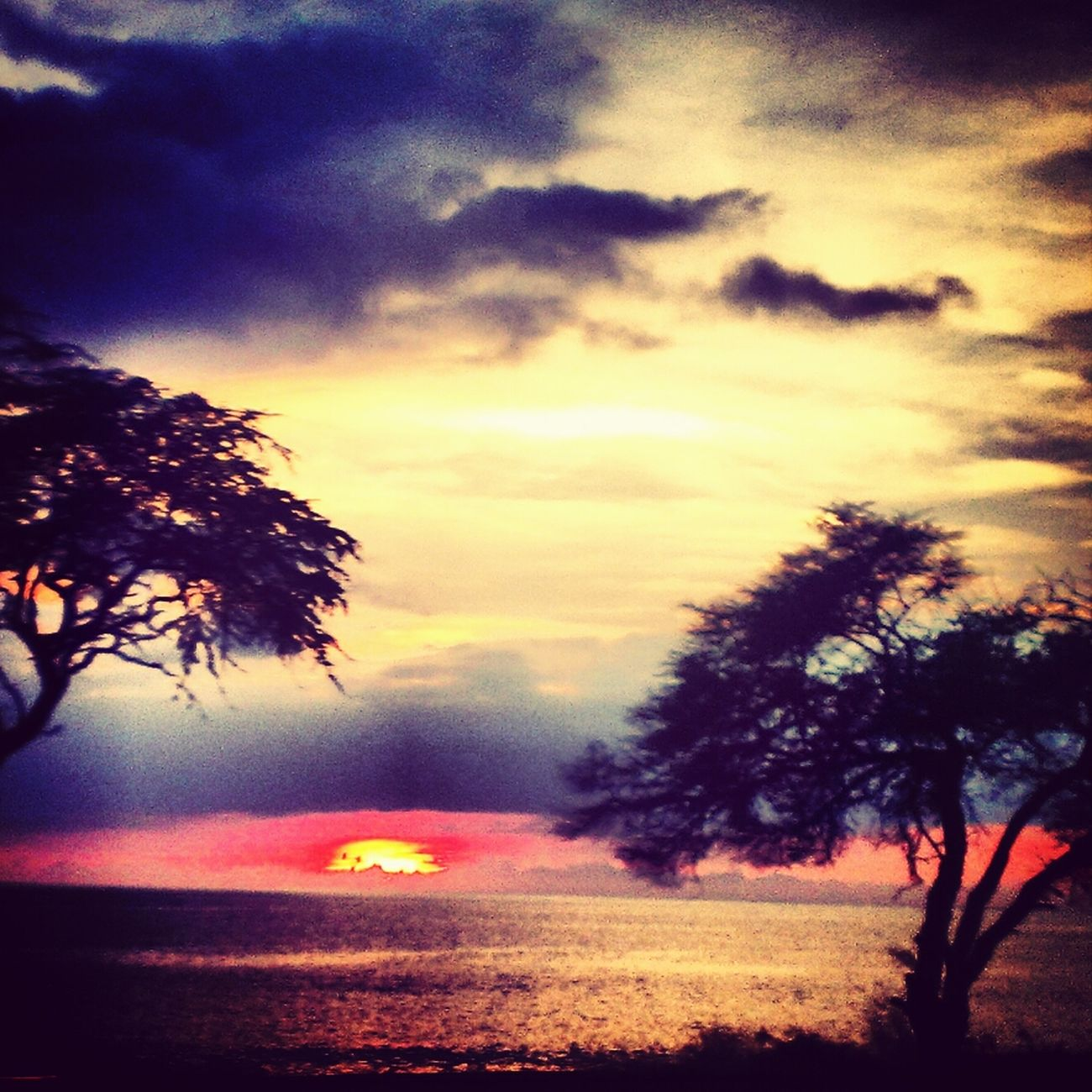 If I could turn back time, I'd give my all to you.... Reminiscing Clouds And Sky Heavenly Hawaiian Sunsets