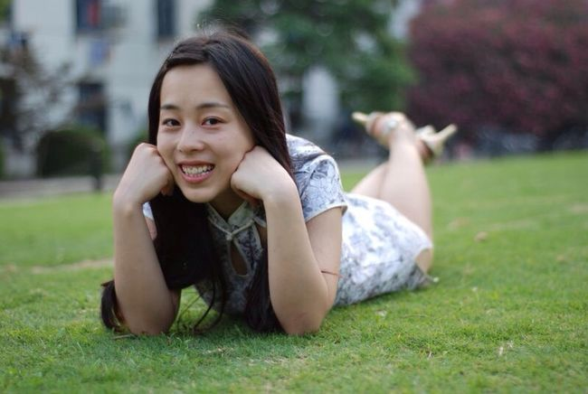 Mode Posing Stree Photography University Campus