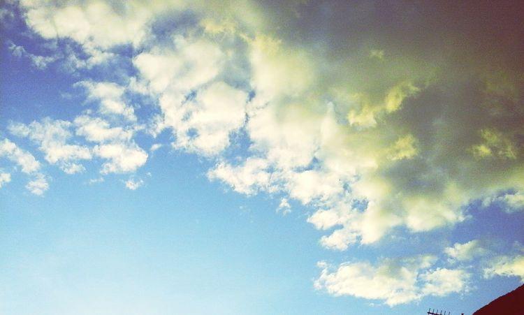Little Clouds Beautiful Nature
