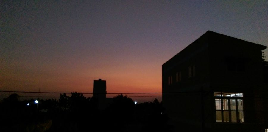Twilight Sunset Shadow Shades Mobile Photography