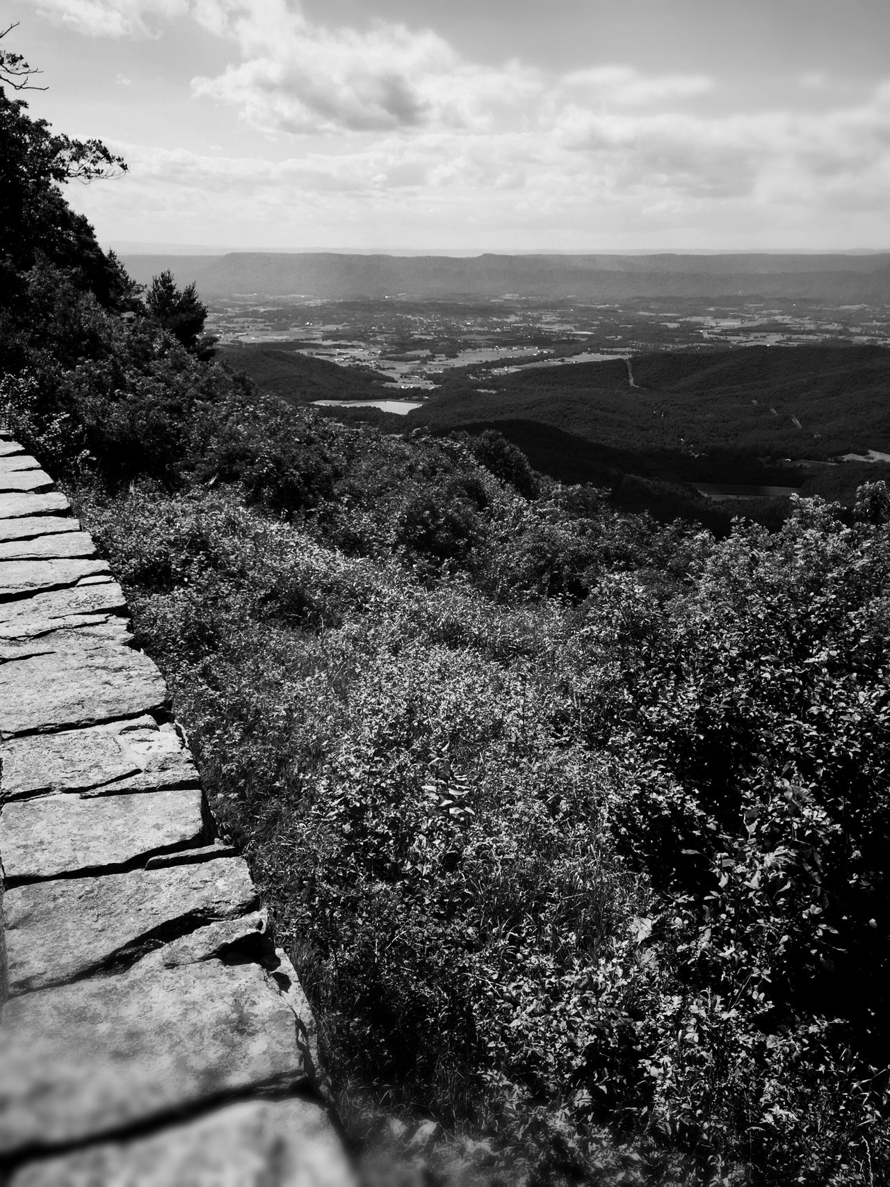 Valley View Nature Sky Scenics Tranquil Scene Beauty In Nature Tranquility Landscape Cloud - Sky Nature Mountain Landscape_Collection Blackandwhite Monochrome Blackandwhite Photography