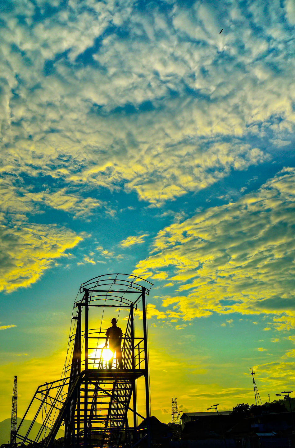Only Men Silhouette Silhouettes Indonesia Photography  Florestimur Sunset