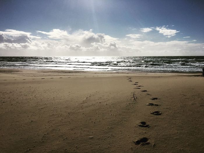 By the sea. Winterbeach Southside Portugal Relax Breathe Sea And Sky