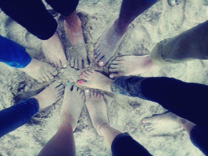 Floortraits Fun 😑 Barefoot Last Exam  So much fun at beach :D Difficult to judge person by feet :P