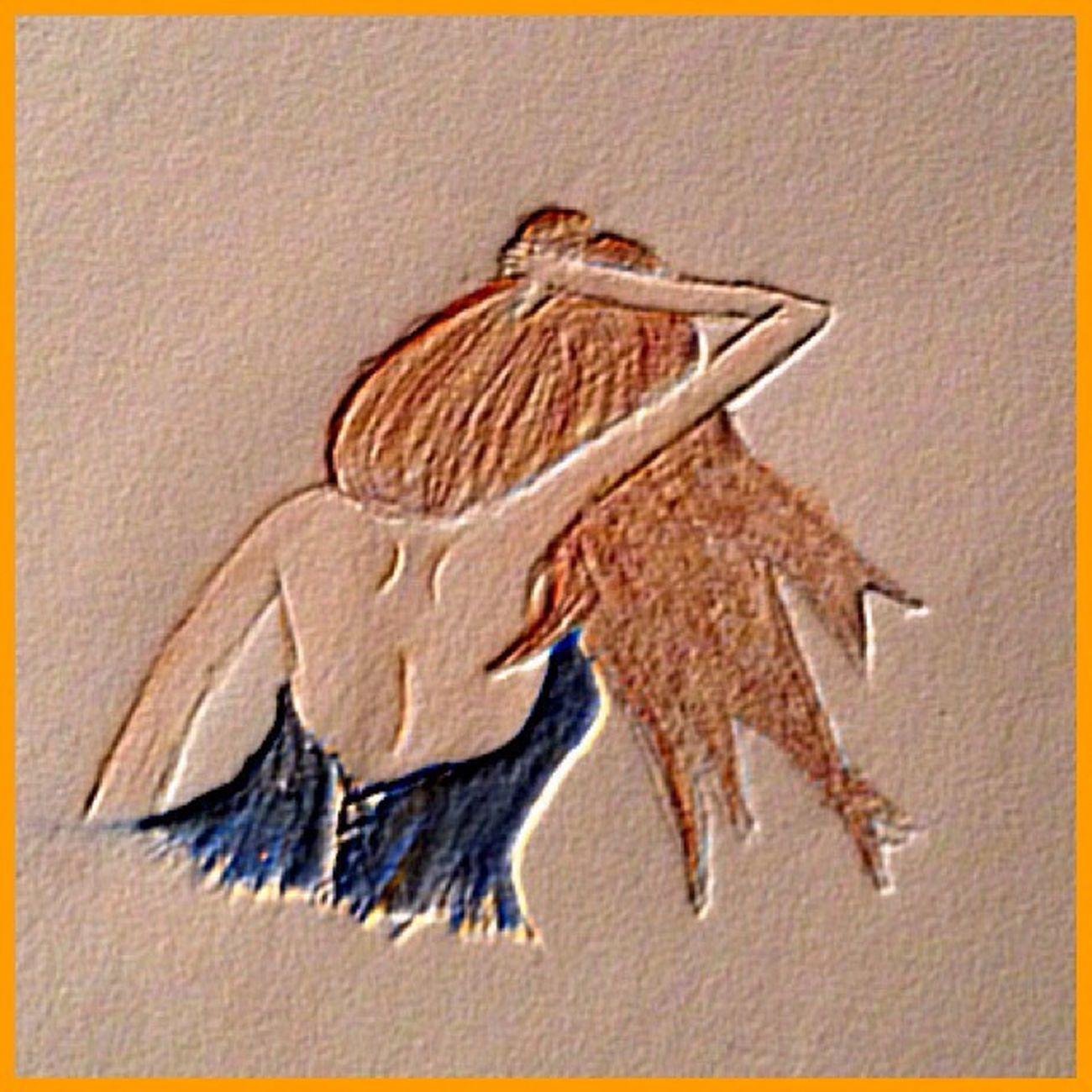 Art Tanzen Dance Dancing Zeichnen Malen Paint With Love Girl