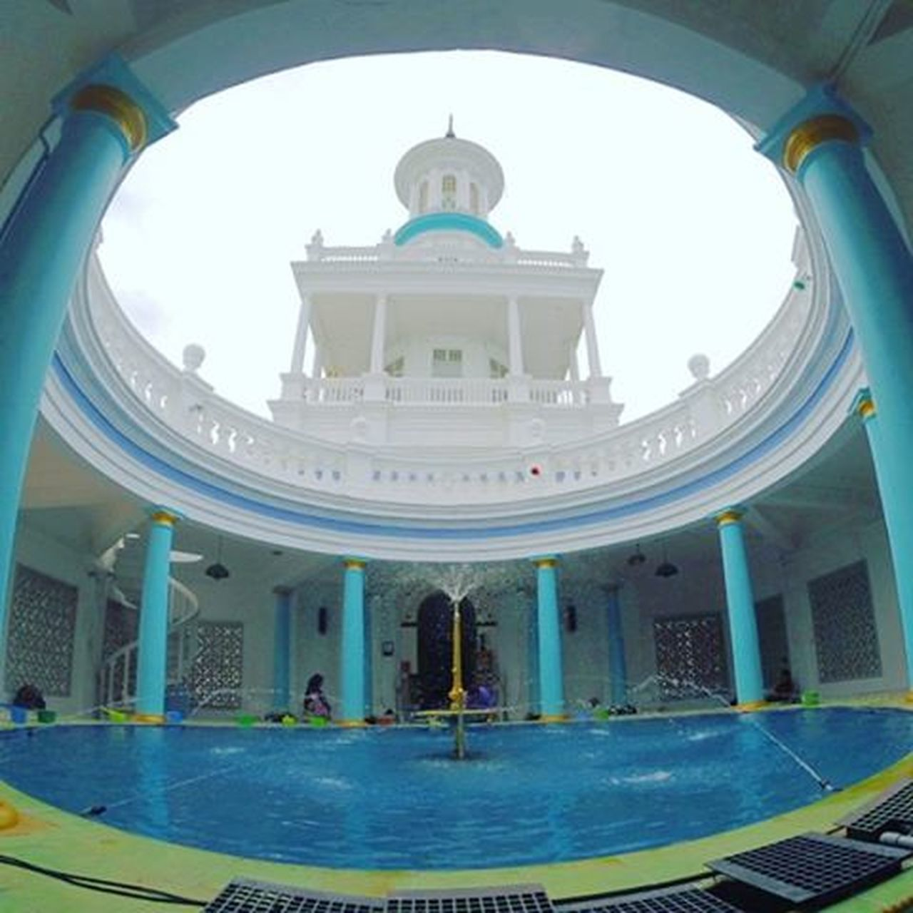 Masjid Sultan Ibrahim Muar Mosque Masjid JJCM Jalanjalancarimasjid Jalanjohorcarimakan Muar Johor Roadtrip Luaskanpandangan Redahjalanlama