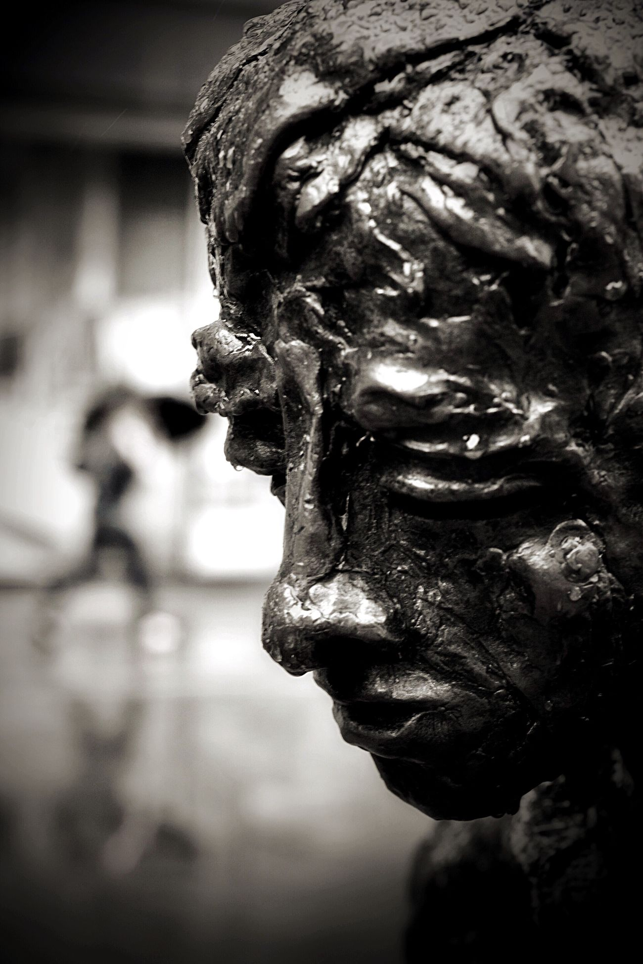 Statue Sculpture Art And Craft Human Representation Male Likeness Creativity Focus On Foreground Close-up No People Outdoors Day Renaissance Light And Shadow Dof 50mm Nikon Streetphoto_bw Blackandwhite