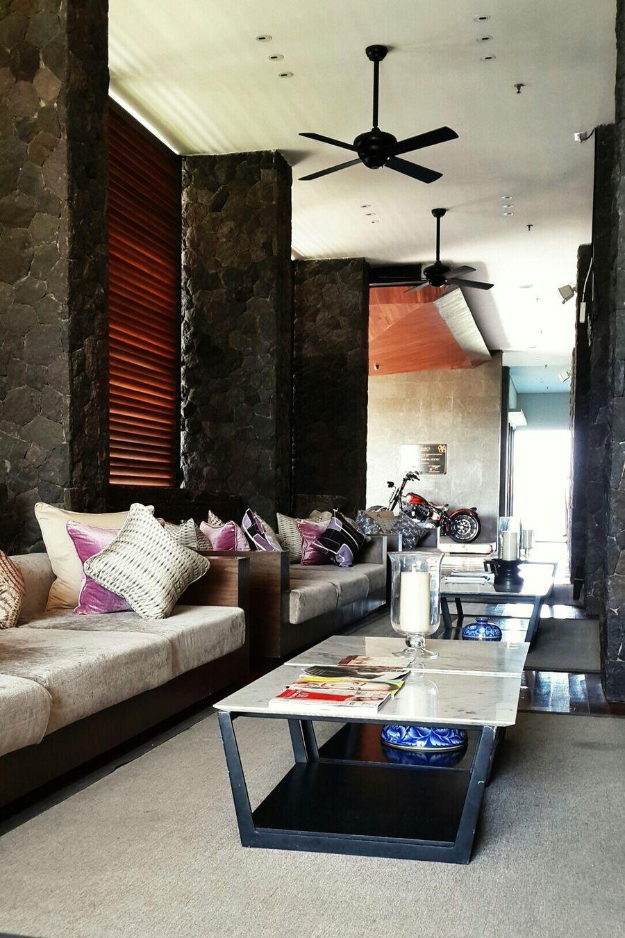 Lobby lounge Hotel Lobby Relaxing Time Interior Design Seminyak Bali