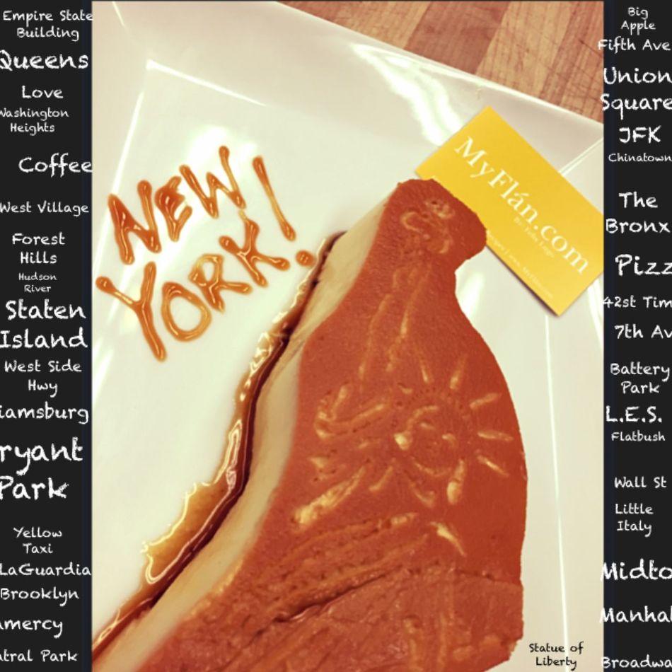 Newyork Foodporn Myflan Pudim Dessert Pastry Flan