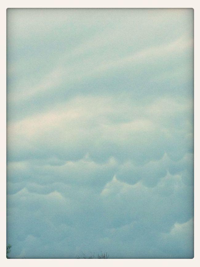 Clouds Walking Around