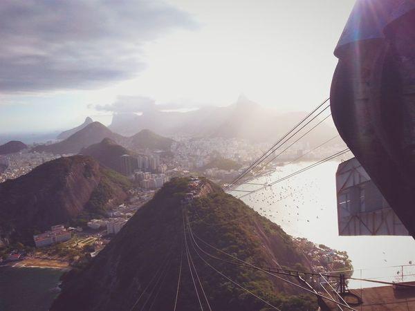 Bondinho do Pão de Açúcar Nature Photography Riodejaneiro Sightseeing Landscape Landscape_photography Mountains And Sky Bring Me The Horizon