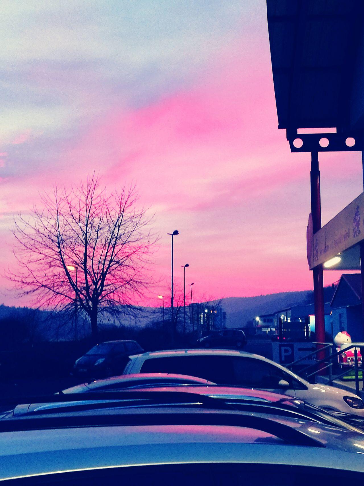 Sonnenuntergang Himmel Dreaming My Life Away ♥