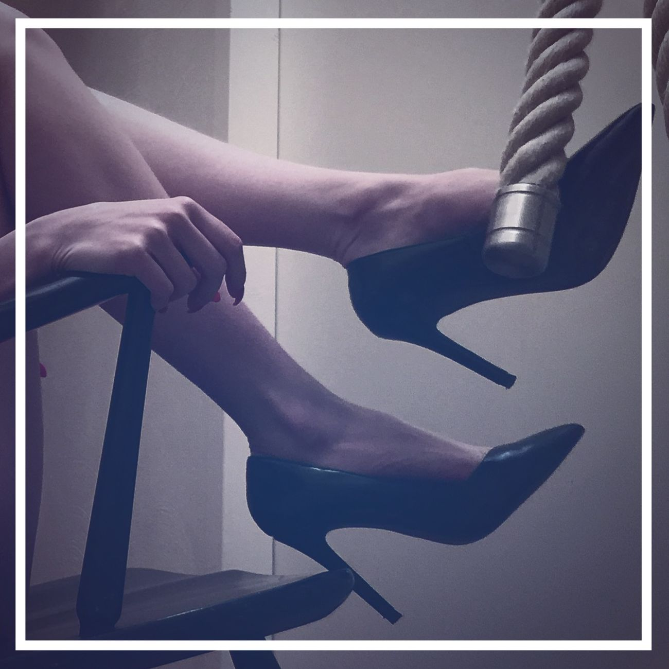 Lina Foot Fetish High Heels Seduction