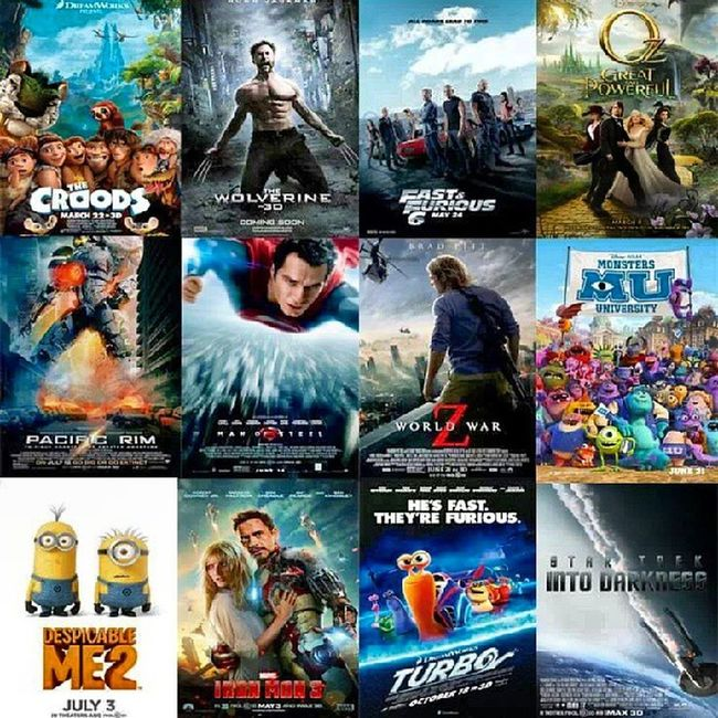 Only seen Thewolverine PacificRim Ironman3 and FF6 still more to see before summer is over