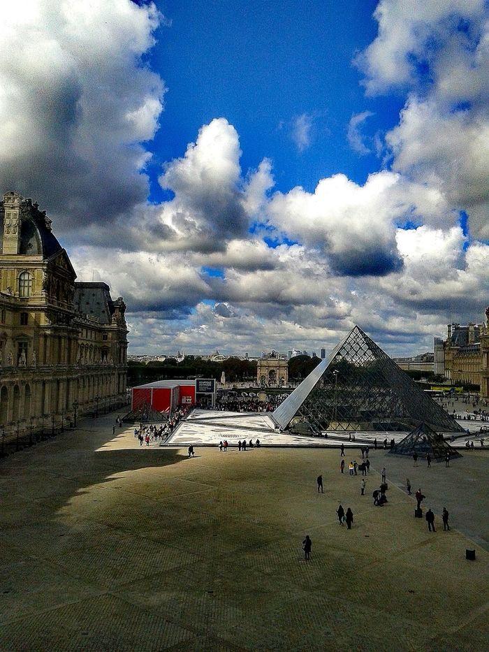 Architecture Sky Travel Destinations City Life Golden Moment Paris Je T Aime Paris, France  Paris, France  Louvre Piramidedecristal