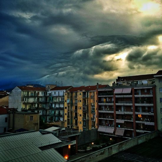 Sky And Clouds Storm Torino