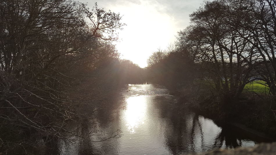 River Nairn @ 9am Sky Wet Water Nature No People Outdoors Beauty In Nature Day