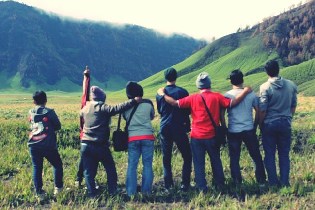 The EyeEm Facebook Cover Challenge Mountain View Mount Bromo, East Java - Indonesia Having Fun