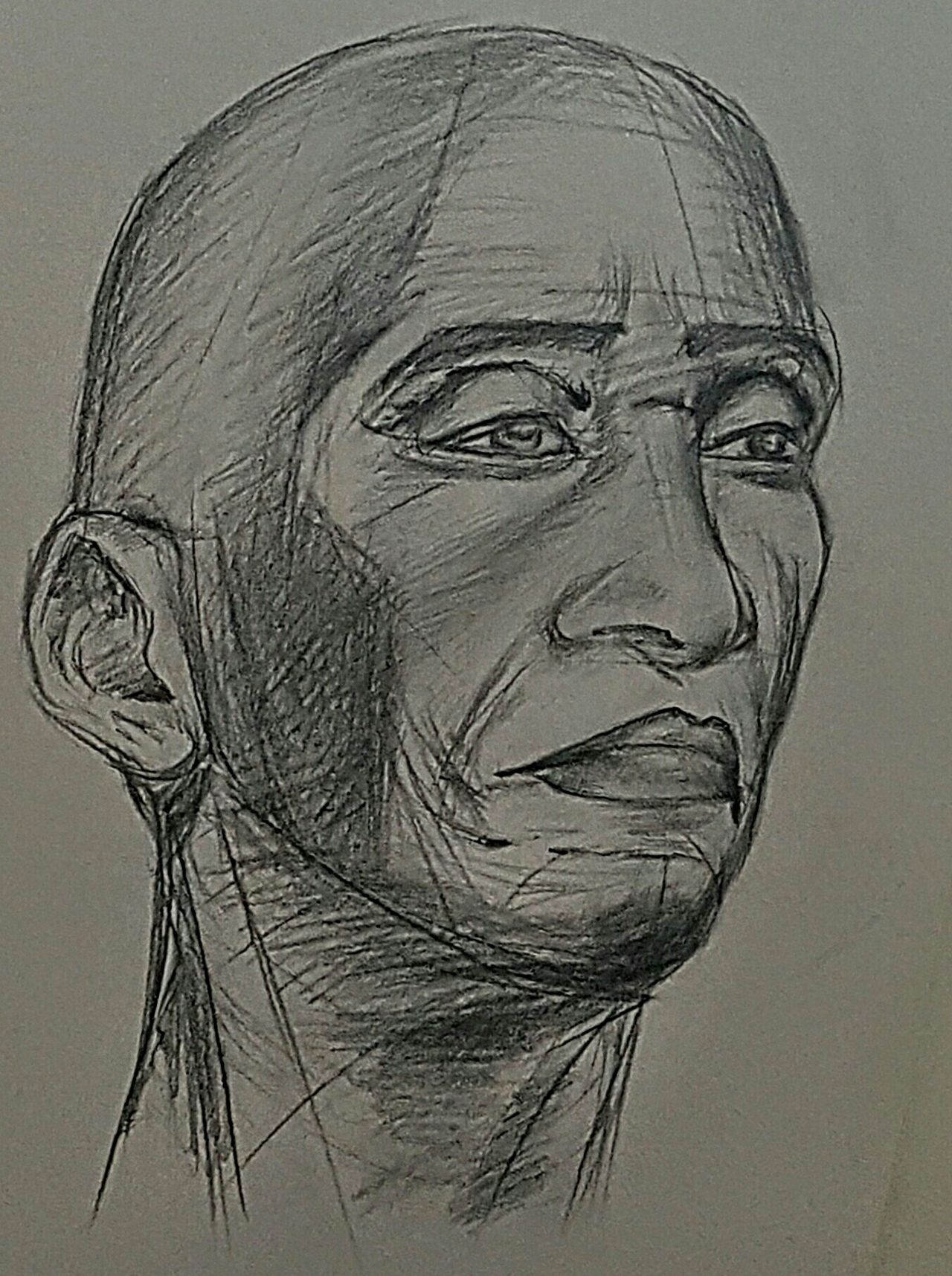 Two hour student drawing