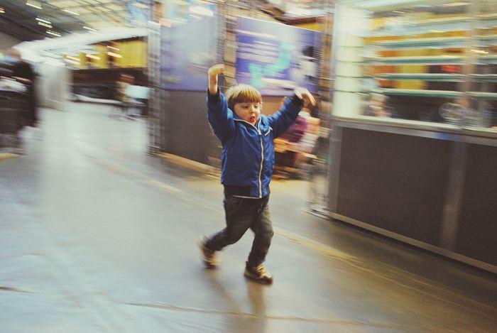 Childs Play Motion Blur Boy Running Blurred Background Action Shot  Moving Shot Monkey Impression Malephotographerofthemonth The Week Of Eyeem Eyem Best Shots