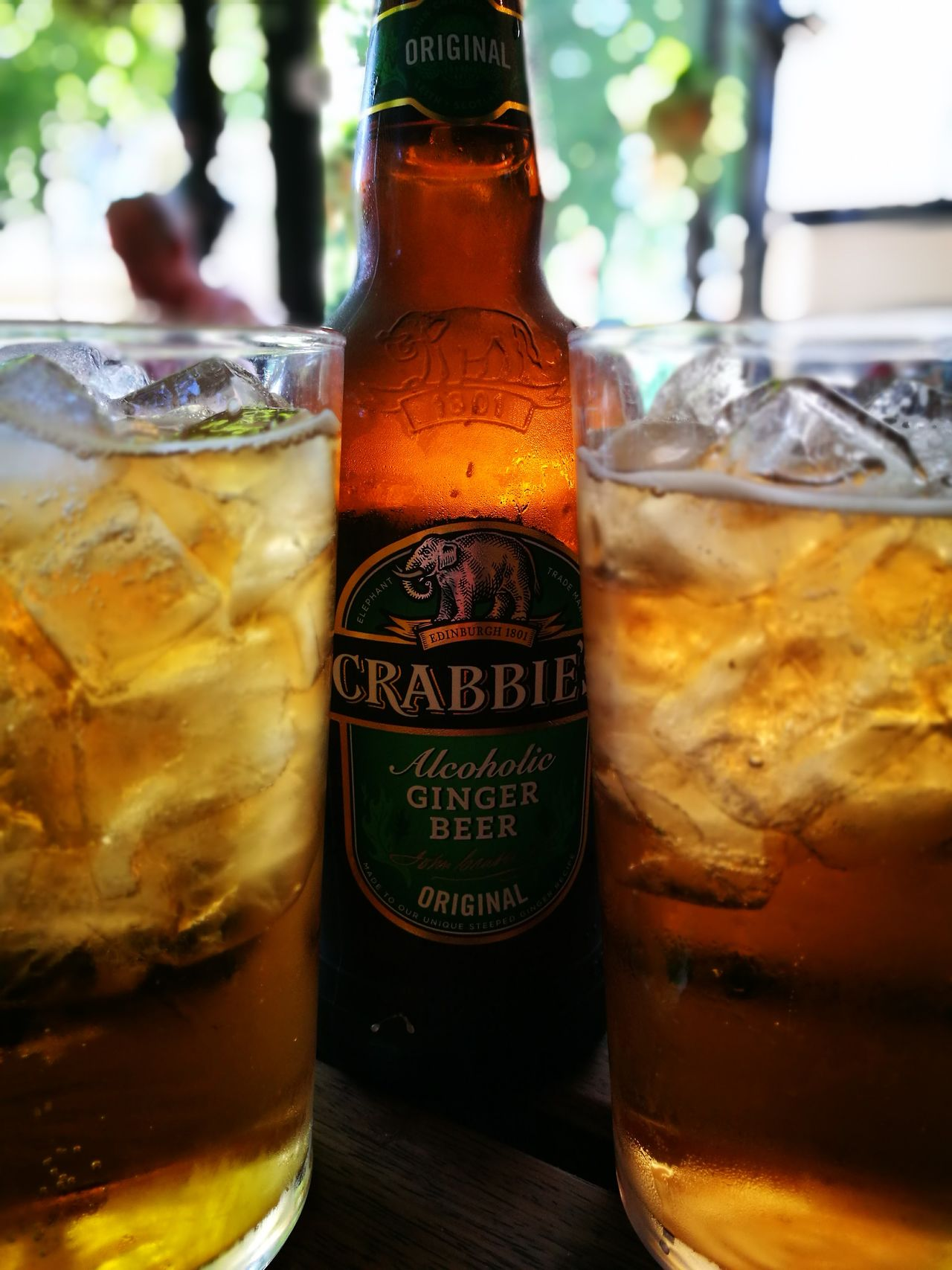 Drink Bottle Drinking Glass Food And Drink Refreshment Glass - Material Alcohol Non-alcoholic Beverage Cold Drink Ice Tea Ice Cube No People Beer - Alcohol Close-up Jar Cola Condensation Cold Temperature Liquid Freshness Crabbies Gingerbeer