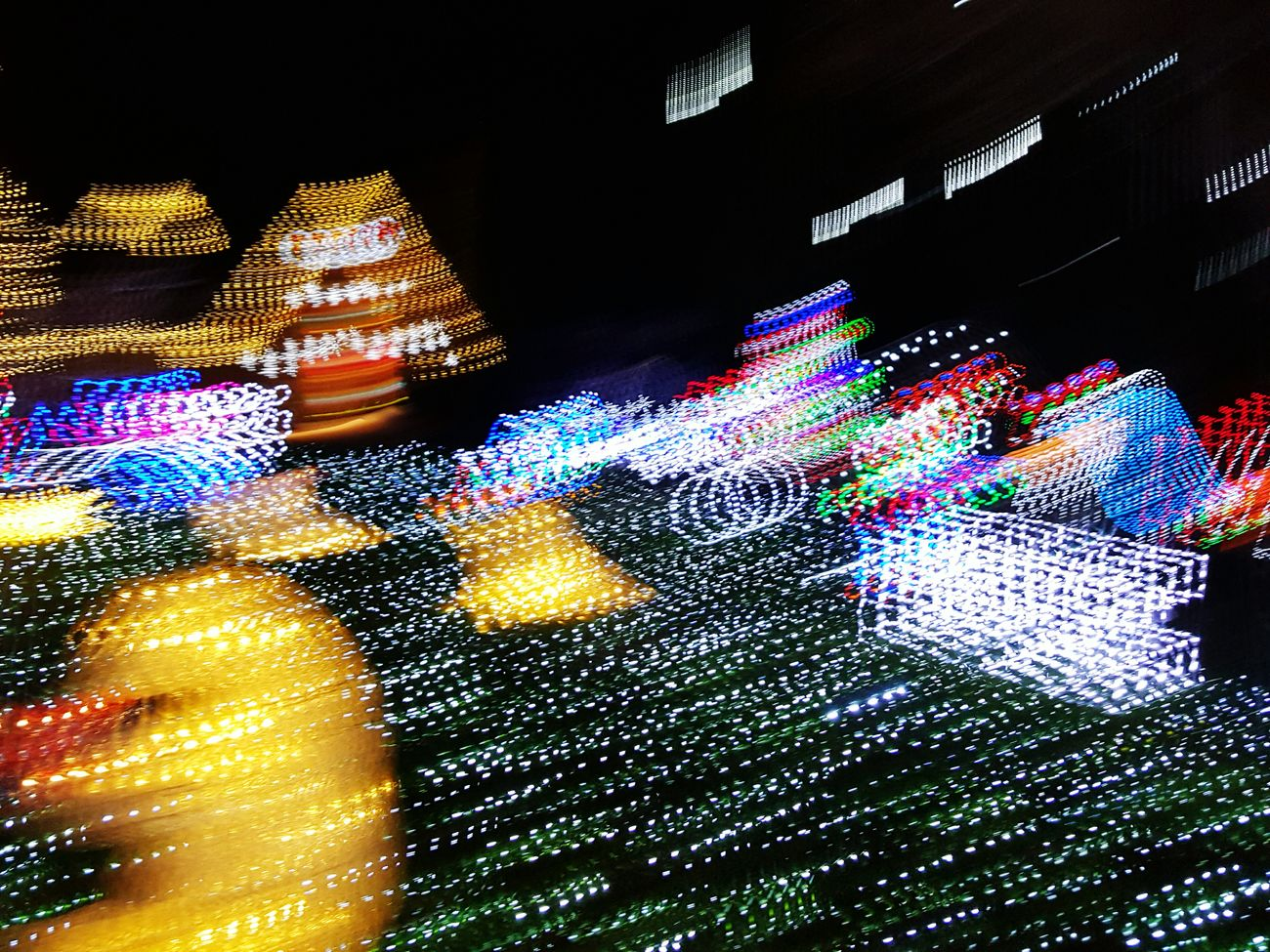 Showcase: December Glitch Christmas Lights Christmas Led Lights  LED Nightography Night Lights Nightphotography