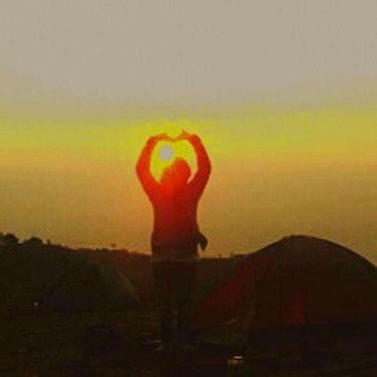 Sunset Nature Outdoors Beauty In Nature Dieng Indonesia BeautyfullIndonesia Sun Is The Best Filter Treveling Wonosobohitz Ayodolan Gunung Prau