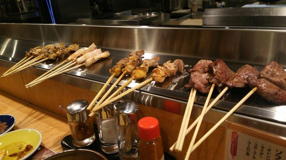 Food Food Porn In My Mouf Japan Enjoy A Meal Tokyo Ikebukuro Ikebukuro やきとり Yakitori 焼き鳥 Akiyoshi(´ω`)秋吉 久しぶりに行けた!