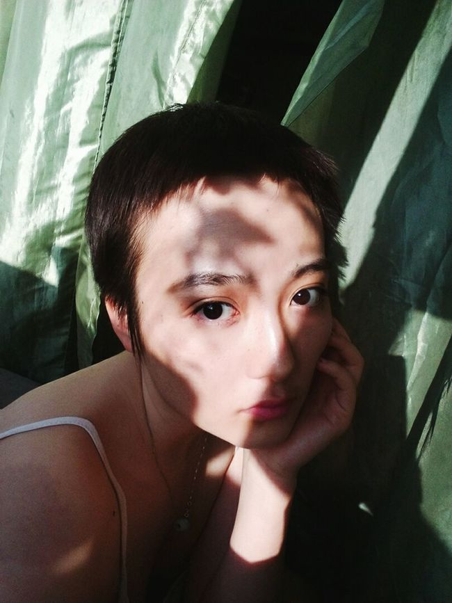 Eyes Taking Photos Portrait Nature That's Me Light And Shadow Holiday Beauty Hi! Faces Of EyeEm Model Hello World Personality  Fairytale  Me Innocent Freedom Uniqe Short Hair Check This Out Chinese Childhood Hot Day Summer Wild