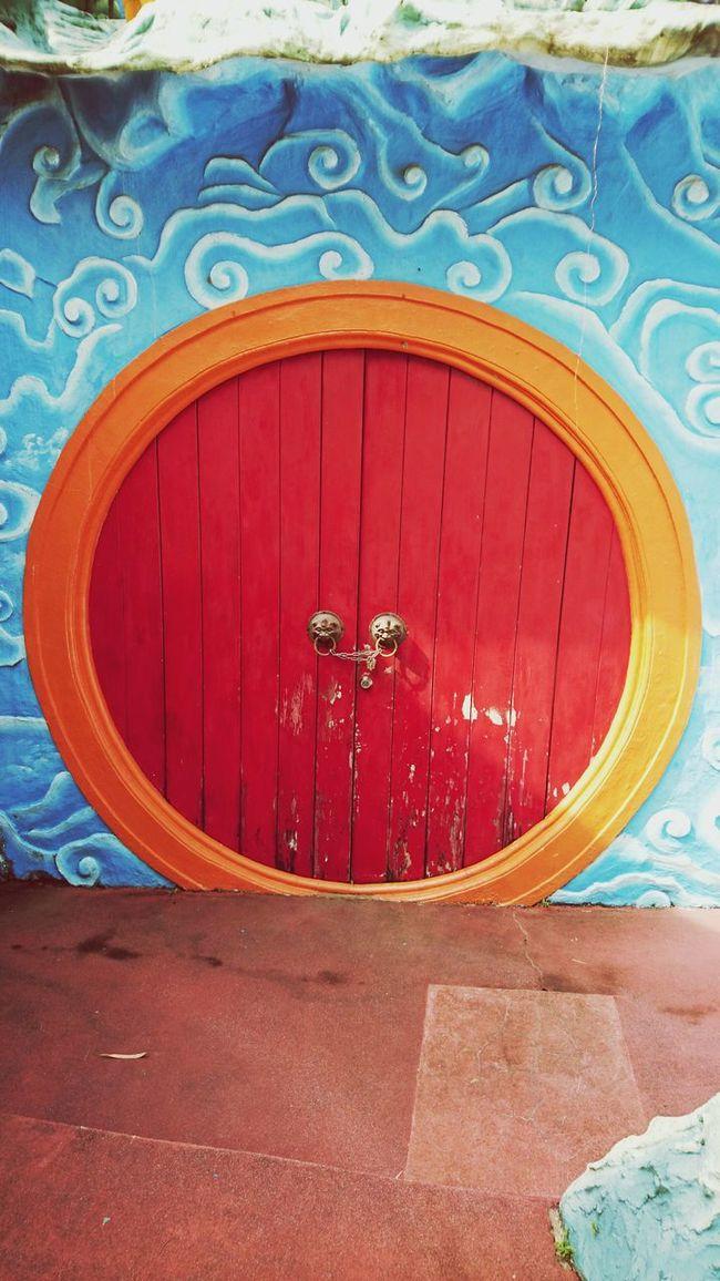 Singapore Hawparvilla Wooden Door Chinese Style