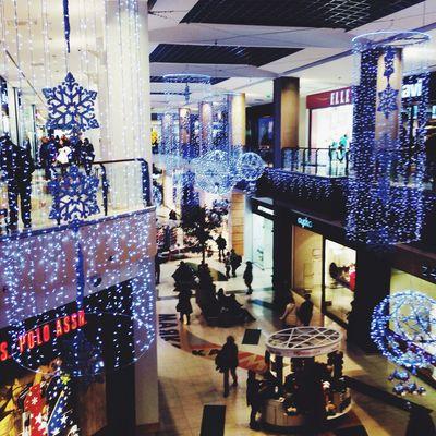 Shopping Hello World Relaxing Nice Christmas Lights The Mall