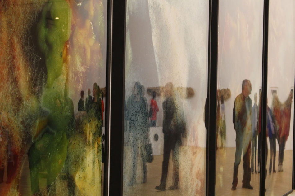 First Eyeem Photo Triennale Milano Painting People Colors Reflection Mirror Colors and patterns