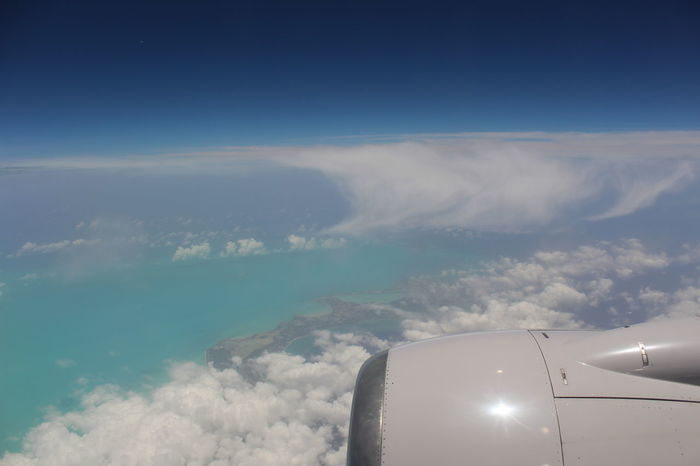 Full View Of Turks And Caicos Islands Vacation Time Photography Traveling Clouds And Sky AirPlane Ride Skyphotography