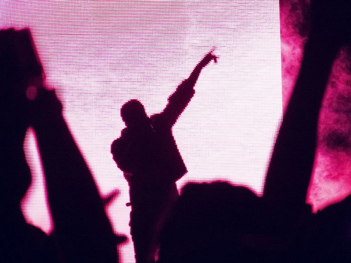 Kanye West performance at life is beautiful festival Live Music Concert Photography What Does Music Look Like To You? Music Electronic Music Shots