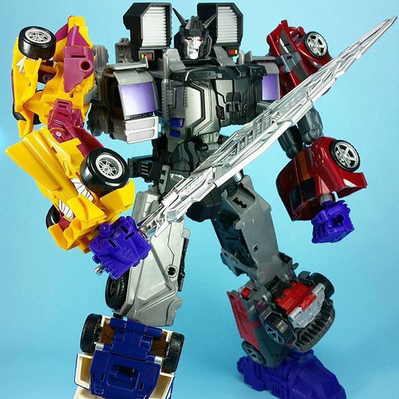 Transformers Combinerwars Menasor + Perfecteffect add-ons