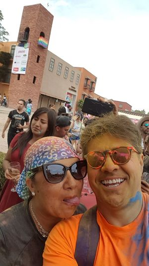 Wine Not Wine Color Festival Sunglasses Fun Adult People Summer Happiness Smiling Outdoors Vacations Human Body Part Multi Colored Day Friendship Togetherness Women Portrait Crowd Youth Culture Adults Only Sky wine color festival